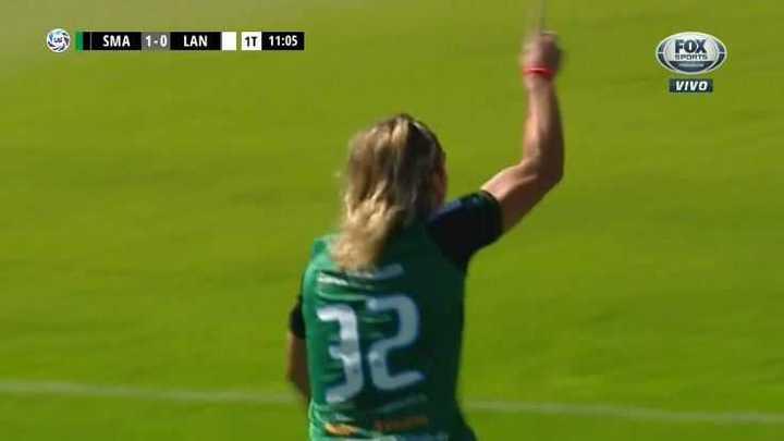 Spinelli marcó el 1 a 0 para San Martín