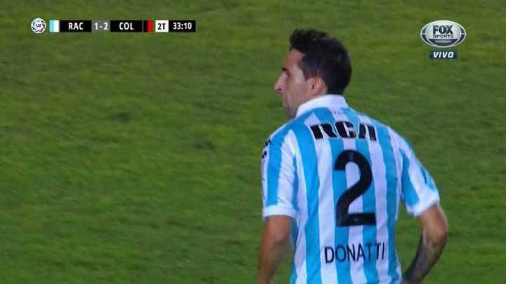 Domínguez se lo tapó a Donatti