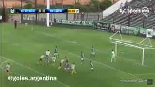 Los goles deChicago 1 - Santamarina 1