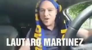 ¡Lautaro ya tiene canción en italiano!