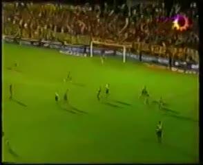 El gol de Trejo para Boca ante Almagro