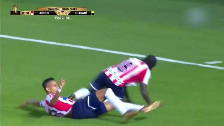 El gol de Chará para Junior