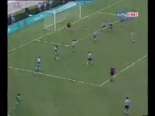 Amokachi y su gol a la Selección