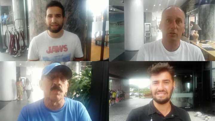 Periodistas opinando del caso Cardona/Barrios