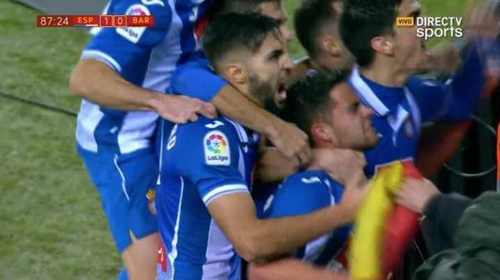 El Espanyol marcó el 1 a 0