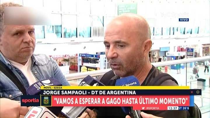 Sampaoli, contento con el rendimiento de Higuaín y Dybala