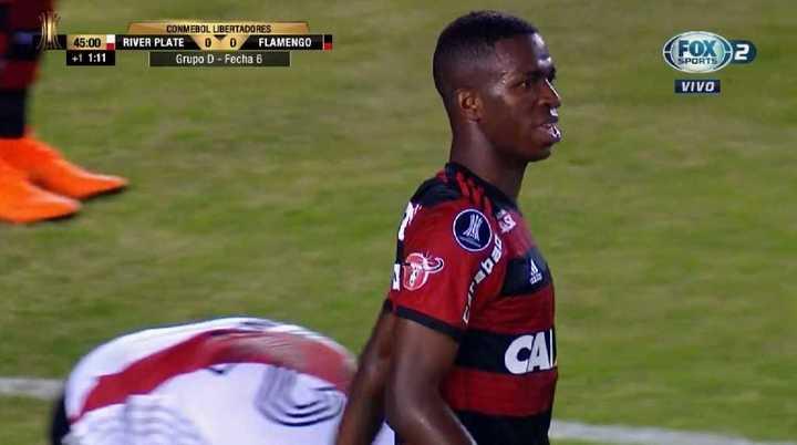 El Flamengo llegó con claridad
