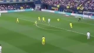 El lujo de Bale en el primer gol del Real