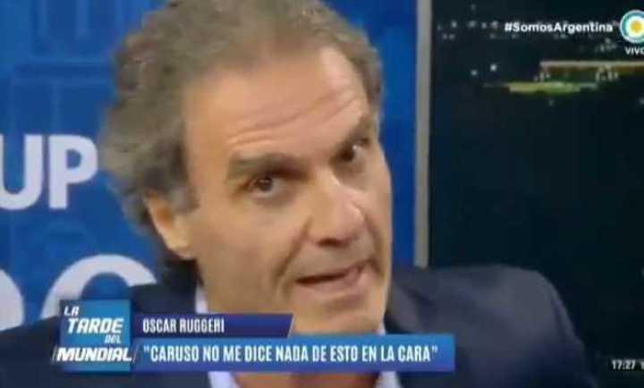 Ruggeri le contestó a Caruso