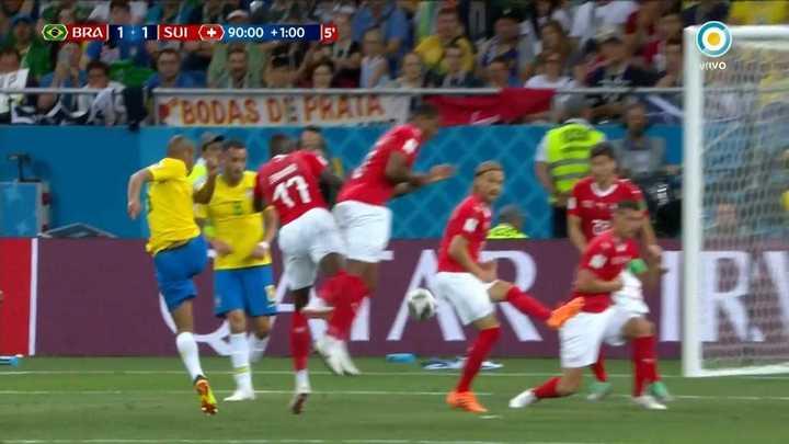 Brasil casi lo gana al final