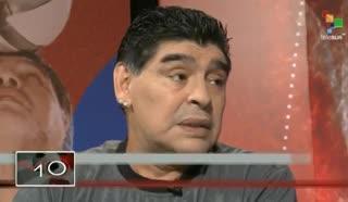 Maradona respaldó a Messi: