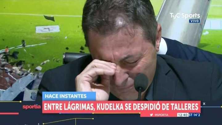 La emotiva despedida de Kudelka