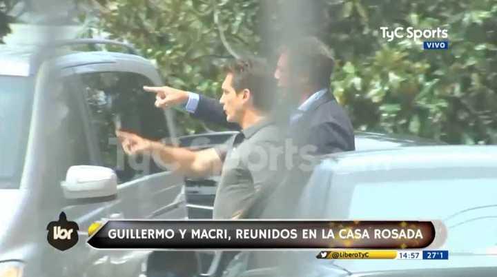 Guillermo se reunió con Macri