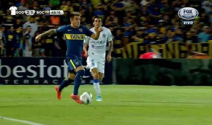 Mirá el partido que hicieron los nuevos laterales de Boca, Buffa y Mas