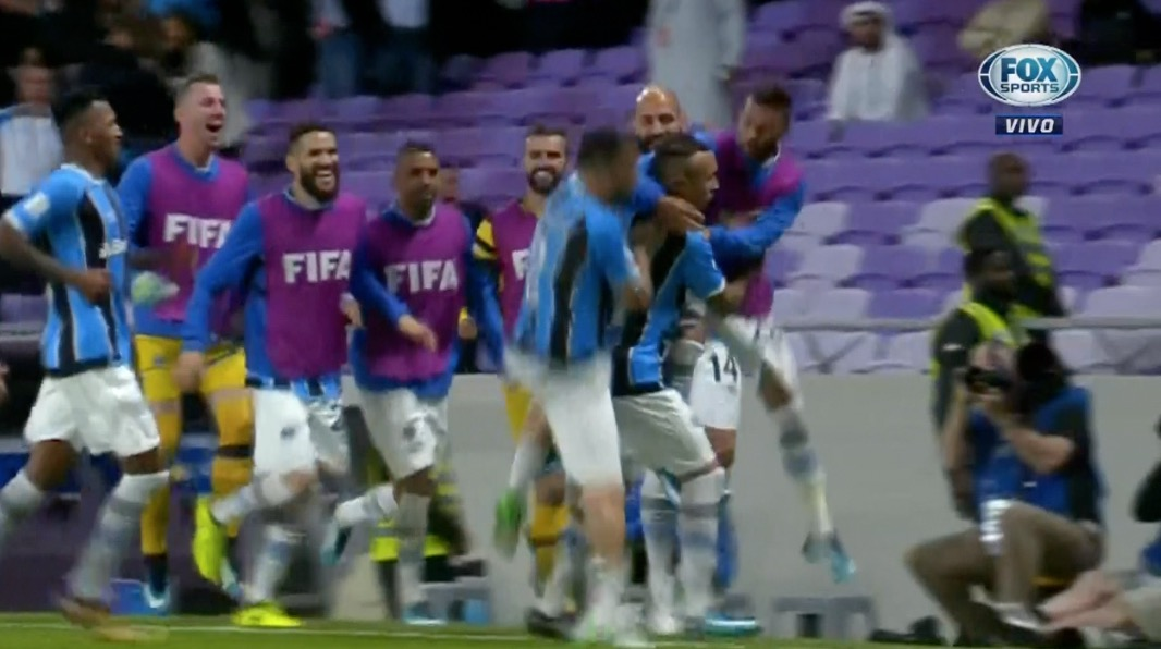 Everton metió el primero del Gremio