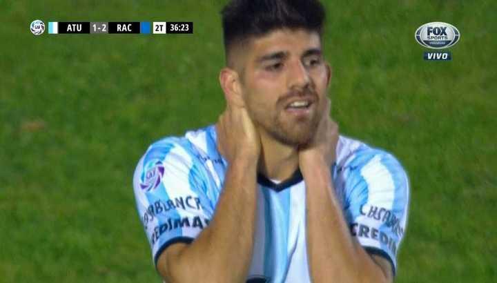 Díaz se perdió el empate