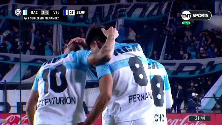Gol de Pol Fernández