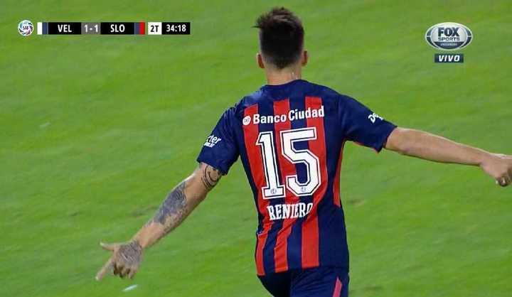 San Lorenzo lo dio vuelta con gol de Reniero