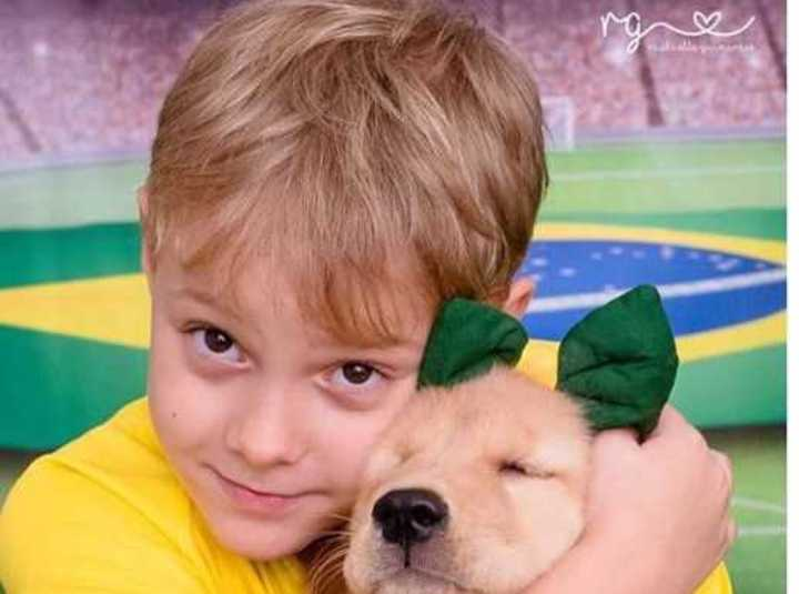 Neymar recibió un tierno mensaje de su hijo