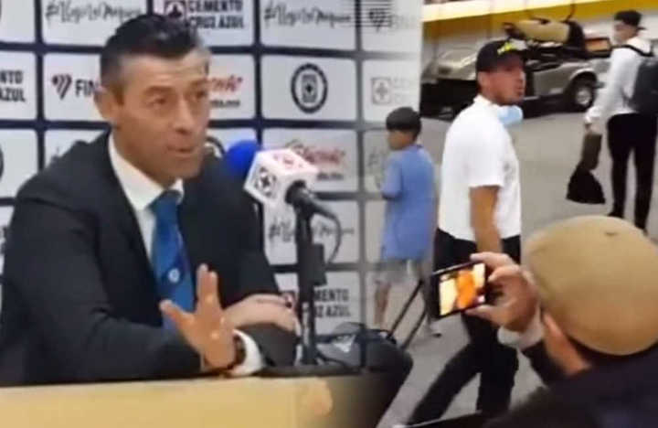 El Patón Guzmán discutió con el DT rival