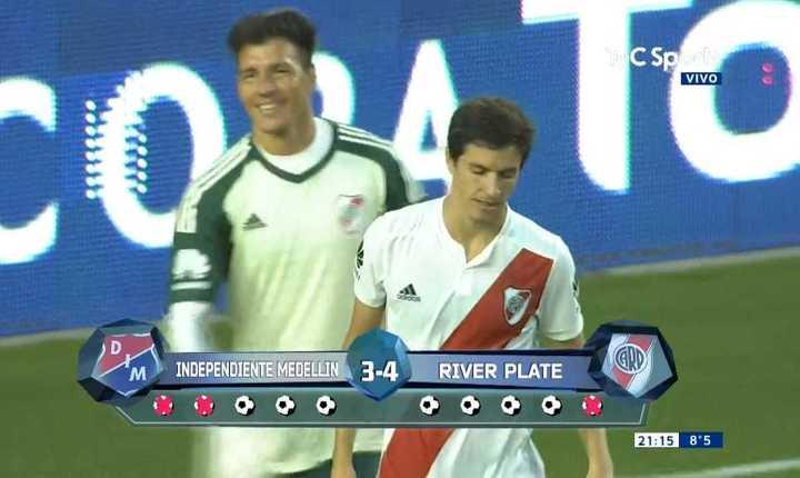 Mirá los penales de River 0 - Independiente Medellín 0