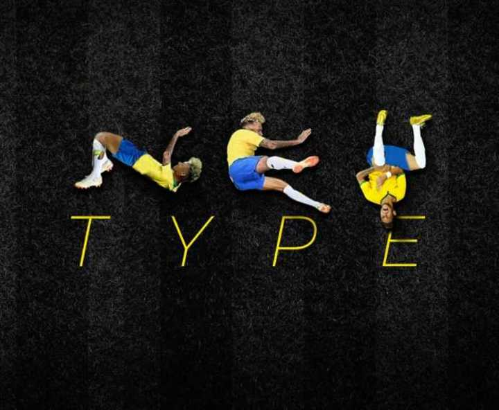 Diseñador brasileño crea un alfabeto inspirado en las caídas de Neymar — Facebook