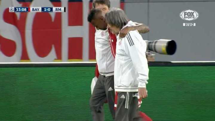 Se lesionó Boateng