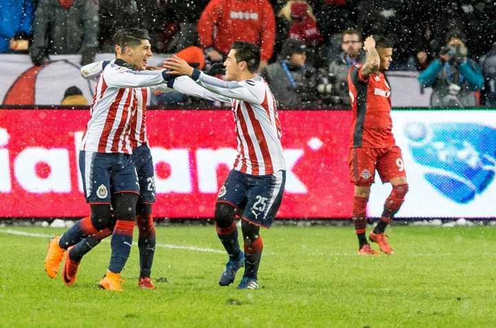 Los goles de Toronto 1 - Chivas 2