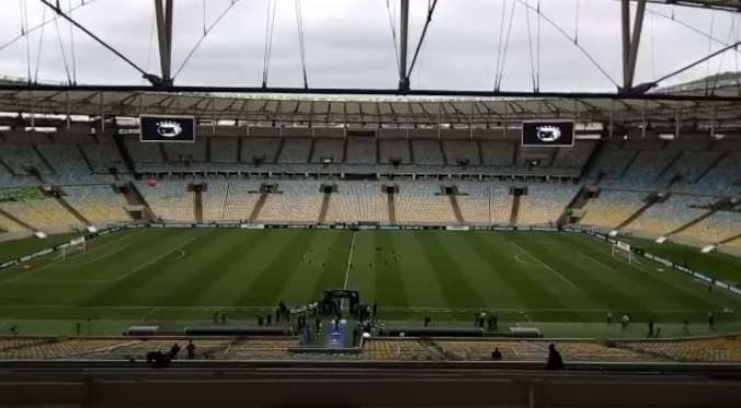 El Maracaná espera por la final de la Sudamericana