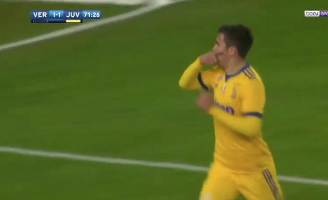 Dybala puso adelante a la Juve