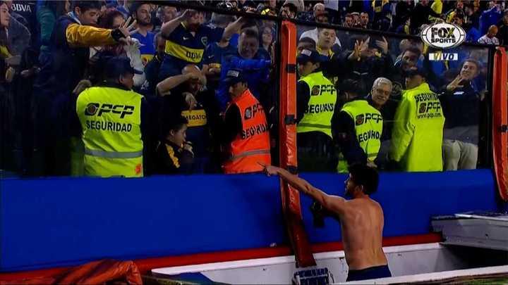 Gran gesto de Pablo Pérez