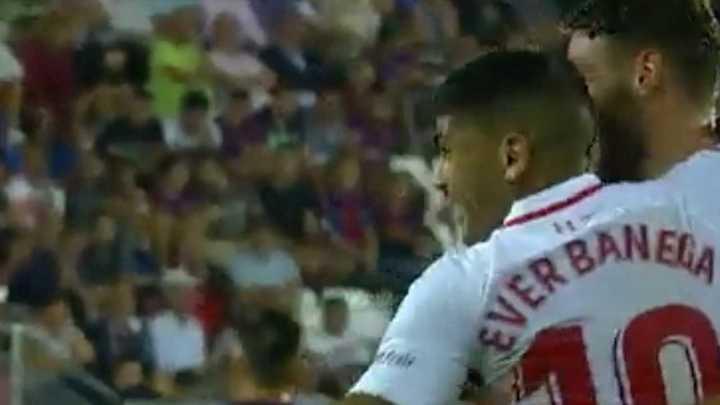 Los goles entre Sevilla y Eibar