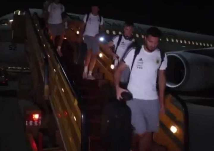 La llegada a Yeda