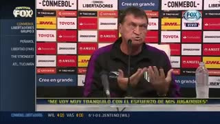 Falcioni dijo que no le dieron un penal grande como el estadio de Nacional