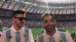 Dos argentinos bancaron a Pitana en la final