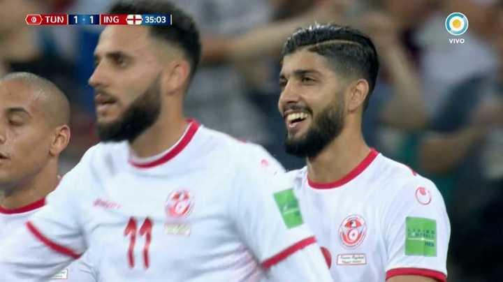 Túnez empató de penal