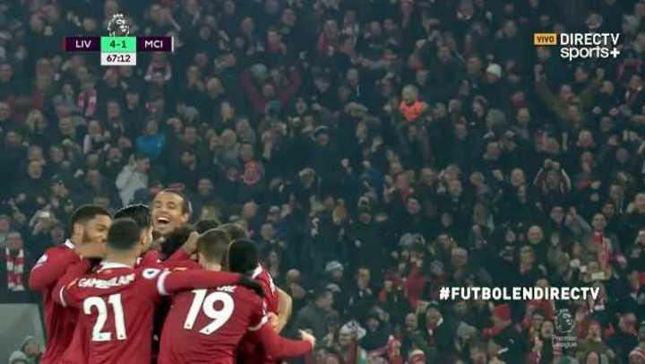 Salah sentenció el encuentro