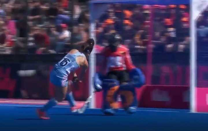 El gol que le dio el empate a Las Leonas