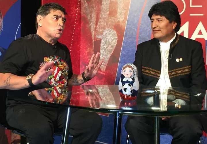 Maradona dijo que