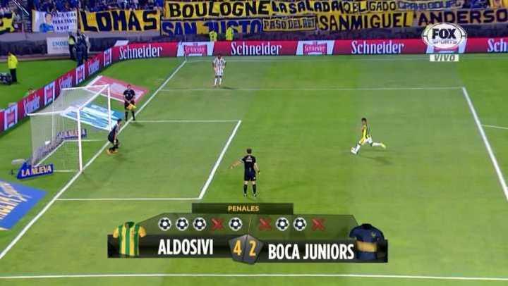 Aldosivi ganó por penales