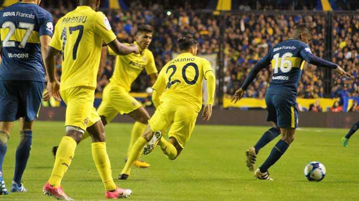 Boca le ganó al Villarreal en la Bombonera