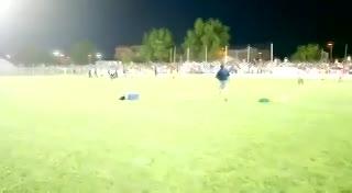 Los incidentes entre Ferrocarril Sud y Racing de Olavarría por Copa Argentina