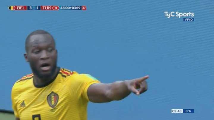 Otro golazo y doblete de Lukaku