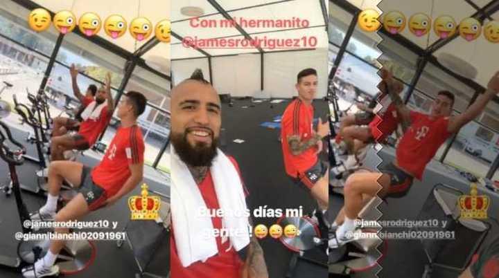 Arturo Vidal se despidió a pura risa