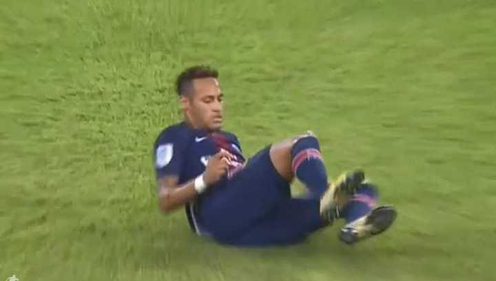 La infracción que recibió Neymar ante Monaco