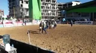 Gol de Argentino campeón