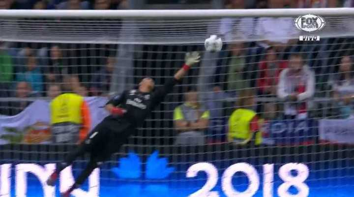 Ñíguez puso el 3 a 2 del Atlético de Madrid