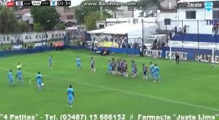 El 2-1 de Defensores Unidos a San Martín (B)