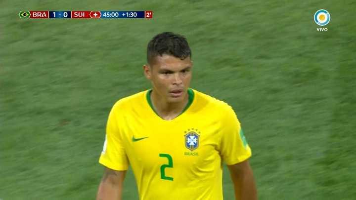 Thiago Silva no pudo convertir