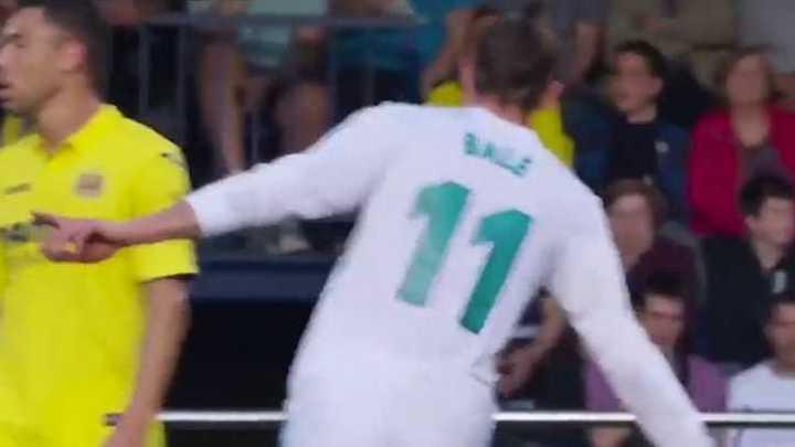 Bale sorprendió y metió un golazo
